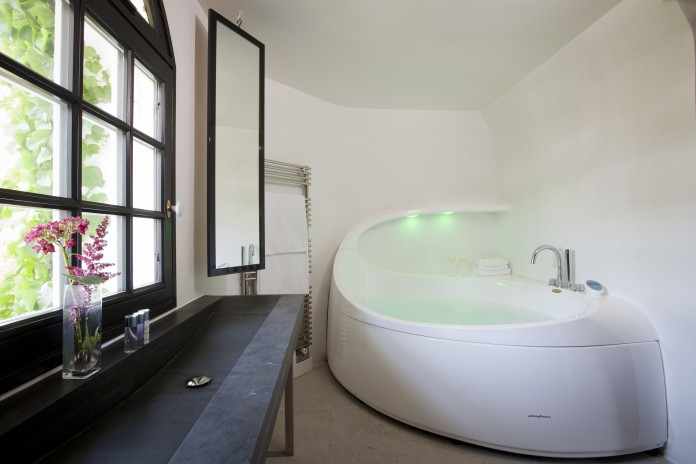 Jaccuzi salle de bain Domaine Saint Clair