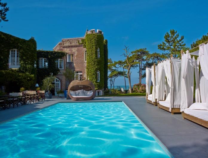 hotel avec piscine etretat